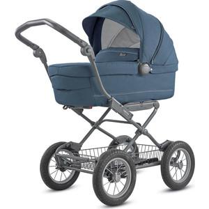 Коляска для новорожденных Inglesina Sofia на шасси Ergo Bike (AB15K6ARB + AE15H6100) ARTIC BLUE коляска для новорожденных inglesina sofia на шасси ergo bike ab15k6vld ae15h6100 village denim