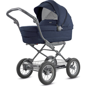 Коляска для новорожденных Inglesina Sofia на шасси Ergo Bike (AB15K6IPB + AE15H6100) IMPERIAL BLUE коляска для новорожденных inglesina sofia на шасси ergo bike ab15k6mgl ae15h6100 marron glace