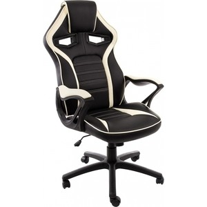 Компьютерное кресло Woodville Monza черное/бежевое компьютерное кресло woodville danser коричневое бежевое