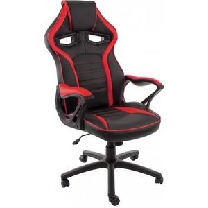 лучшая цена Компьютерное кресло Woodville Monza черное/красное