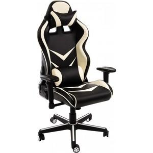 Компьютерное кресло Woodville Racer черное/бежевое компьютерное кресло woodville danser коричневое бежевое