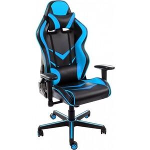 Компьютерное кресло Woodville Racer черное/голубое