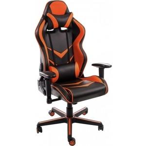 Компьютерное кресло Woodville Racer черное/оранжевое