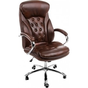 Компьютерное кресло Woodville Rich коричневое компьютерное кресло woodville danser коричневое бежевое