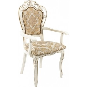 Кресло Woodville Bronte молочный. все цены