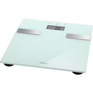 Весы напольные AEG PW 5644 FA weiss весы напольные aeg pw 4923 glas прозрачный