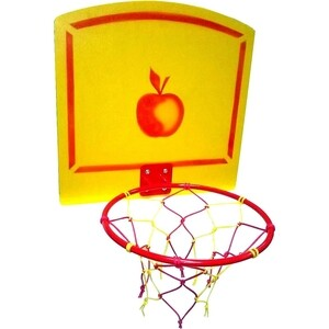 Кольцо баскетбольное Карусель Пионер со щитом