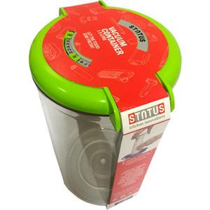 Контейнер для вакуумного упаковщика STATUS VAC-RD-15 Green контейнеры для вакуумного упаковщика status vac rd round red