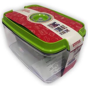 Контейнер для вакуумного упаковщика STATUS VAC-REC-45 Green контейнер для вакуумного упаковщика status vac rec 45 blue