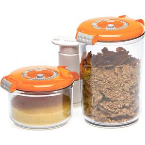 Контейнеры для вакуумного упаковщика STATUS VAC-RD-Round Orange