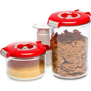 Контейнеры для вакуумного упаковщика STATUS VAC-RD-Round Red
