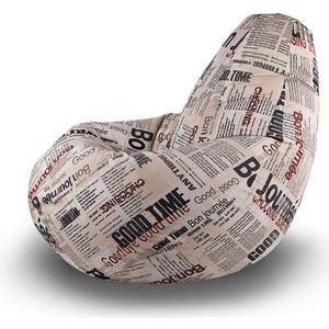 Кресло-мешок Вентал Арт Люкс XL Фреш Газета В7