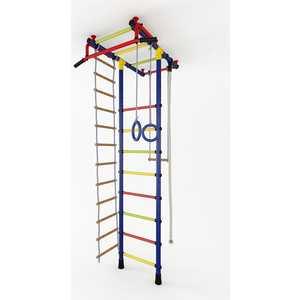Детский спортивный комплекс Маугли 02-01 синий купить недорого низкая цена  - купить со скидкой