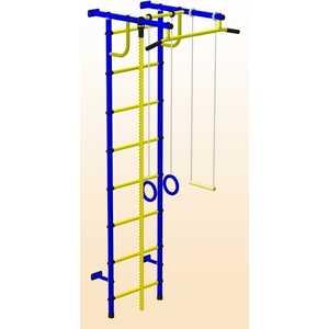 цена на Детский спортивный комплекс Пионер С2Н (синий/жёлтый)