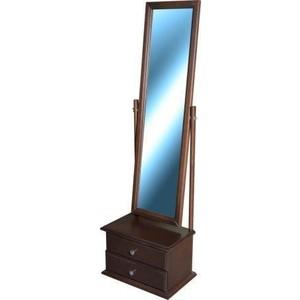 Зеркало Мебелик Селена средне-коричневый с тумбой шампуни содержащие сульфид селена