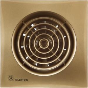 Вентилятор Soler&Palau осевой вытяжной с обратным клапаном D 120 (Silent200CZ Gold)
