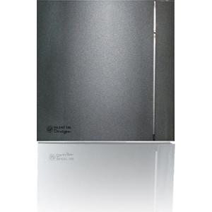 Вентилятор Soler&Palau осевой вытяжной с обратным клапаном D 100 (Silent100CZ Grey DESIGN-4C)
