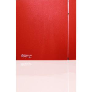 Вентилятор Soler&Palau осевой вытяжной с обратным клапаном D 100 (Silent100CZ Red DESIGN-4C)