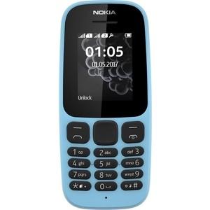 Мобильный телефон Nokia 105 (2017) Blue мобильный телефон samsung b310 blue