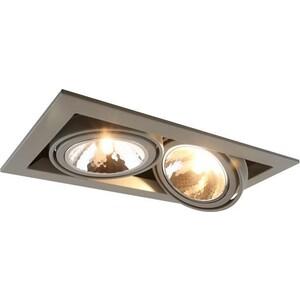 Встраиваемый светильник Arte Lamp A5949PL-2GY цена 2017