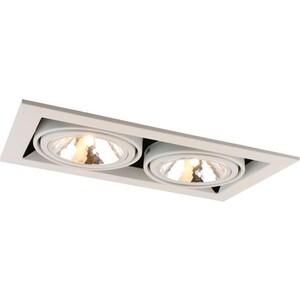 Встраиваемый светильник Artelamp A5949PL-2WH фото