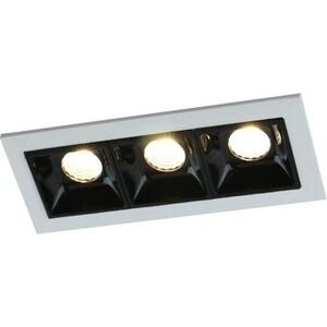 Встраиваемый светодиодный светильник Arte Lamp A3153PL-3BK встраиваемый светильник artelamp a5930pl 3bk