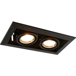 Встраиваемый светильник Artelamp A5941PL-2BK бра artelamp a3225ap 2bk