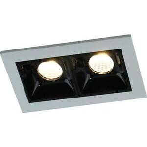 Встраиваемый светодиодный светильник Arte Lamp A3153PL-2BK встраиваемый светодиодный светильник artelamp a3153pl 3bk