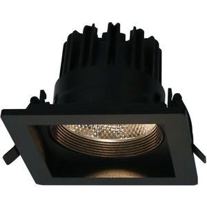 цены Встраиваемый светодиодный светильник Artelamp A7007PL-1BK
