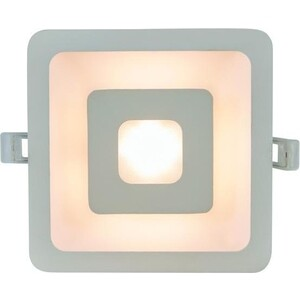 Встраиваемый светодиодный светильник Artelamp A7245PL-2WH потолочный светодиодный светильник artelamp a7709pl 2wh