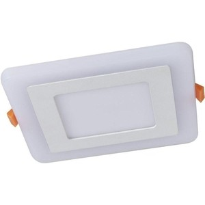 Встраиваемый светодиодный светильник Artelamp A7516PL-2WH потолочный светодиодный светильник artelamp a7709pl 2wh