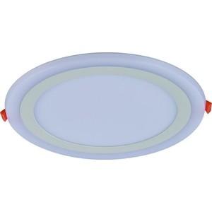 Встраиваемый светодиодный светильник Artelamp A7616PL-2WH потолочный светодиодный светильник artelamp a7709pl 2wh