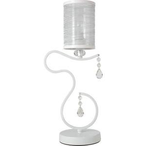 Настольная лампа Crystal Lux Elisa White LG1