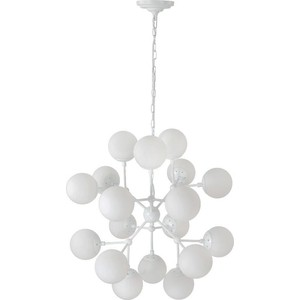 Подвесная люстра Crystal Lux Medea White SP18 crystal lux подвесная люстра crystal lux medea sp18 white