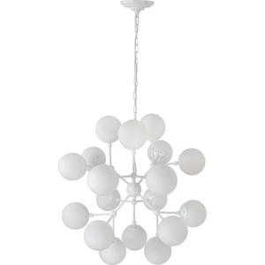 Подвесная люстра Crystal Lux Medea White SP18 crystal lux подвесная люстра crystal lux alma white sp pl12 6 6