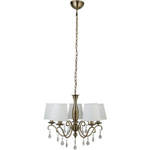 Подвесная люстра Arte Lamp A2313LM-5AB подвесная люстра arte lamp american diner a9366lm 5ab