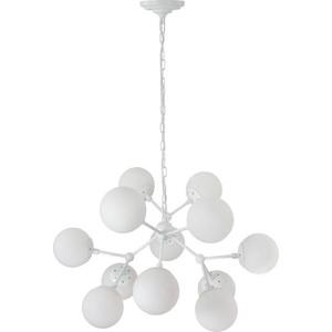 Подвесная люстра Crystal Lux Medea White SP12 crystal lux подвесная люстра crystal lux alma white sp pl12 6 6