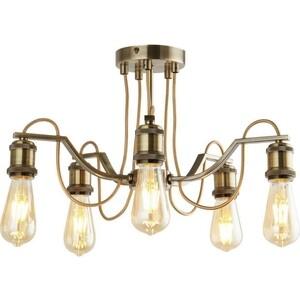 Потолочная люстра Arte Lamp A2985PL-5AB подвесная люстра arte lamp american diner a9366lm 5ab