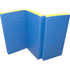 Мат КМС № 4 (100 х 150 10) складной сине-жёлтый