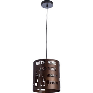 Фото - Подвесной светильник Artelamp A1223SP-1BR подвесной светильник caffetteria a1223sp 1br