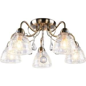 Потолочная люстра Arte Lamp A1658PL-5AB подвесная люстра arte lamp american diner a9366lm 5ab