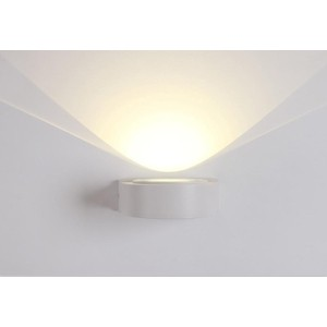 Уличный настенный светодиодный светильник Crystal Lux CLT 025W WH