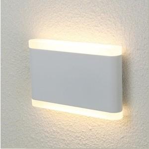 Уличный настенный светодиодный светильник Crystal Lux CLT 024W175 WH цена