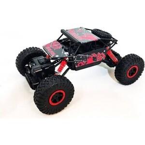 лучшая цена Радиоуправляемый краулер JD красный RTR 4WD масштаб 1:18 2.4G - 699-92