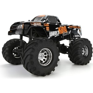 Радиоуправляемый монстр HPI Racing Wheely King 4X4 4WD RTR масштаб 1:12 2.4G gd багги 1 5 4x4 desert buggy xl 1 5th 4wd rtr