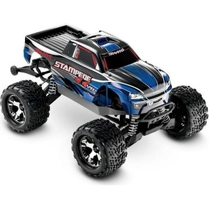 Радиоуправляемый монстр TRAXXAS Stampede 4x4 VXL 4WD RTR масштаб 1:10 2.4G - TRA67086-4 1 5 degree toe aluminum rear stub axle carriers for the traxxas stampede 4x4 slash 4x4 nitro rustler or nitro stampede