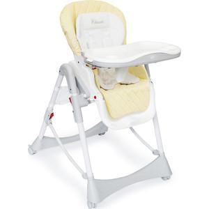 Стульчик для кормления Happy Baby WILLIAM (cream) набор для кормления детей happy baby anti colic baby bottle 10009 lime