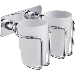 Стакан для ванны Timo Nelson двойной, хром (150032/00)