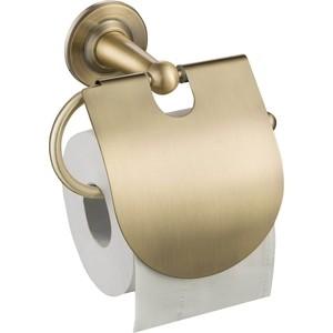 Держатель туалетной бумаги Timo Nelson с крышкой, антик (160042/02)