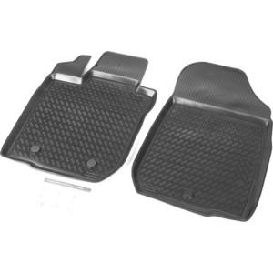 Коврики салона передние Rival для Lada Largus фургон (2 места) (2012-н.в.), полиуретан, 16003003